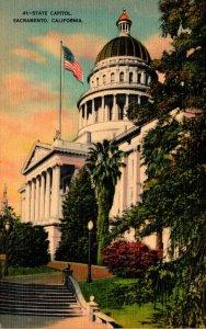 California Sacramento State Capitol Building 1947