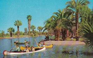 Arizona Phoenix Canoeing In Encanto Park