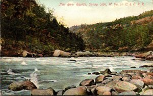 West Virginia Sunny Side New River Rapids 1912