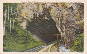 Virginia Natural Tunnel 1951 Curteich