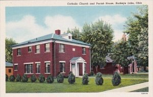 Catholic Church And Parish House Buckeye Lake Ohio