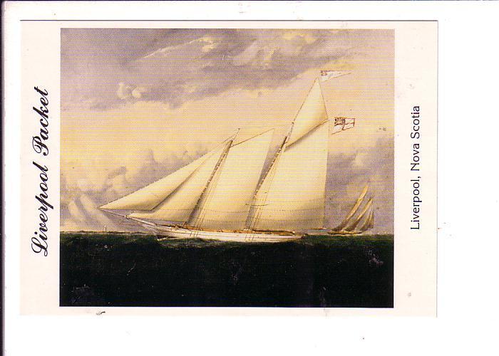 Packet Privateer Ship, Kitchen, Liverpool Nova Scotia, Canada,