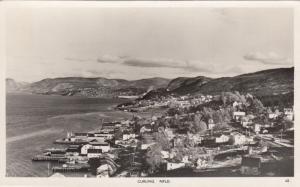 RP; CURLING , Newfoundland, Canada, 1930-40s ; Panorama