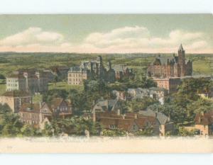 Unused Divided-Back Syracuse University - Syracuse New York NY E0681