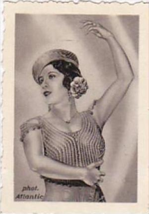 GARBATI CIGARETTE CARD FAMOUS DANCERS NO 240 ARGENTINITA