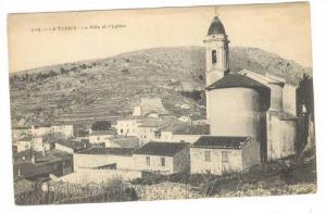 La Ville Et l'Eglise, La Turbie (Alpes Maritimes), France, 1900-1910s