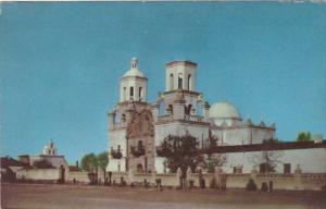 Arizona Tucson Mision San Xavier Del Bac 1952