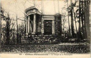 CPA Ermenonville- Le Temple de la Philosophie FRANCE (1020488)