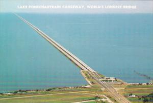 Louisiana New Orleans Lake Ponchartrain Causeway World's Longest Bridge
