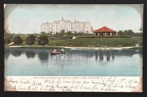 Boating on Branch Brook Park Lake Newark NJ 3745  1906