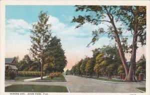 Florida Avon Park Verona Avenue Curteich
