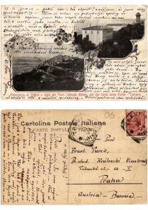 CPA Carrara Panorama di Trevi e Villa del Pont . ITALY (546664)