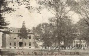 St. Charles Millitary, Mo. USA  St. Charles Military College Old Vintage Anti...