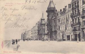 La Digue, Cote Est, Street View, Ostende (West Flanders), Belgium, PU-1902