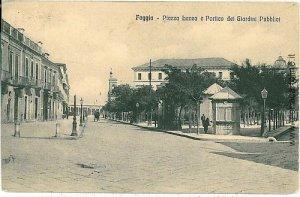 08324  CARTOLINA d'Epoca - FOGGIA Citta' : PIAZZA LANZA