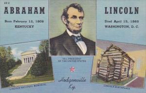 Abraham Lincoln Born Feb 12 1809 Died April 15 1865 16th President Of The Uni...