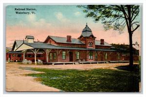14015  VT Waterbury  Railroad Station