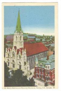 St Marys , Halifax , Nova Scotia , Canada , PU-1953