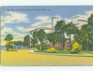 Linen KING AND PRINCE HOTEL St. Simons Island Georgia GA HQ3980