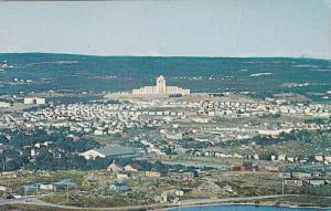 Bird's Eye view of St. John's from Signal Hill Confederation Building in Cent...