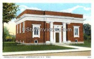 Carnegie Public Library in Hendersonville, North Carolina