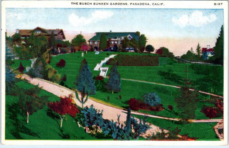 Busch Gardens Pasadena Ca