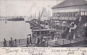 New Jersey Atlantic City Yachting Pier 1906