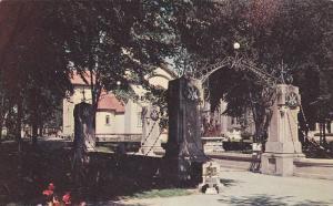 The Bridge of the Rosaries commemorates and ice span, Cap-De-La-Madeleine, Qu...