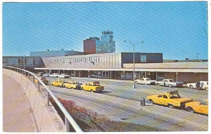 Cleveland Hopkins International Airport, Cleveland, Ohio, 40-60s