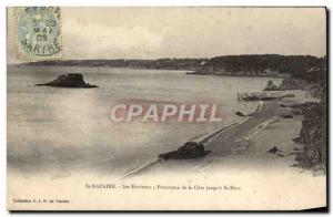 Old Postcard St Nazaire Its Surroundings Panorama De La Cote Up & # 39a San M...