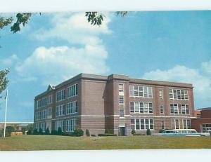 Unused Pre-1980 HIGH SCHOOL Milford Delaware DE L9817@