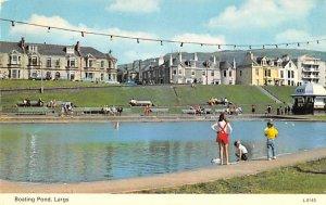 Boating Pond Largs United Kingdom, Great Britain, England Unused