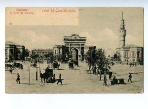147134 TURKEY Constantinople Seraskerat Vintage undivided pc