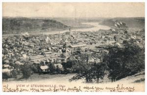 Ohio   Aerial View of   Steubenville
