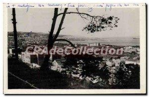 Postcard Old Algiers Vue Prize De Mustapha