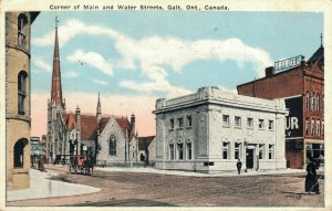 Canada Corner of Main and Water Streets Gait Ontario 04.01