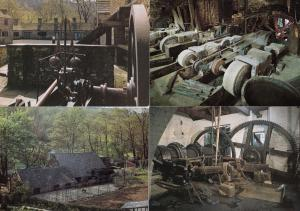 Sheffield Wheel The Steam Engine Hull 4x Factory Industry Postcard s
