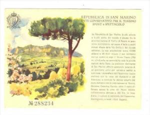 Repubblica di S. Marina, Ente Governativo per il Turismo Sport e Spettacolo, ...