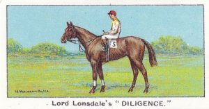 Diligence Winners On The Turf 1923 Jubilee Handicap Horse Racing Cigarette Card