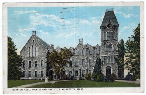 Worcester, Mass, Boynton Hall, Polytechnic Institute