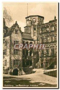 Postcard Old Heidelberg Heidelberger Im Schlosshof