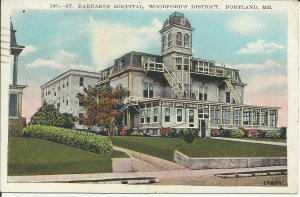 Portland, Me., St. Barnabus Hospital, Woodford's District