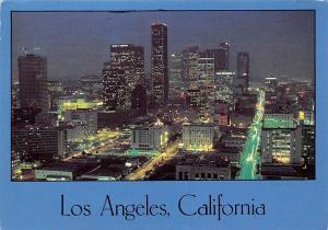USA Los Angeles California Night View Panorama