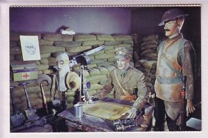 Army Museum, Halifax Citadel, Nova Scotia, Trench Dug Out Soldiers