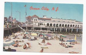 Ocean City NJ  Music Pier Boardwalk Beach Vintage Freeman Postcard Don Ceppi