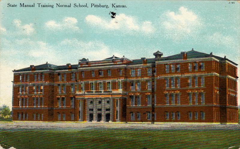 State Manual Training Normal School , PITTSBURG , Kansas , PU-1912