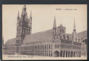 Belgium Postcard - Ypres - L'Hotel De Ville   T9315
