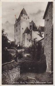 RP; Landshut, Burg Trausnitz, Wittelsbacher Turm, Lower Bavaria, Germany, 10-20s