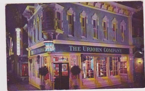 Upjohn Company Old Fasioned Drug Store, Disneyland, California 1940-60s