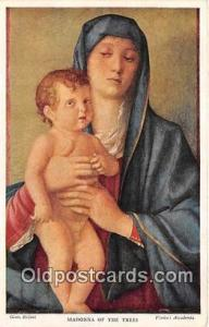 Religion Post card  Madonna of the Trees